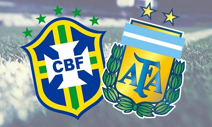 Trực tiếp Brazil vs Argentina, 02h00 ngày 06/09, vòng loại World Cup 2022
