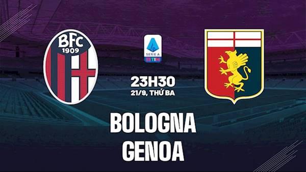 Video kết quả Bologna 2-2 Genoa, vòng 5 giải VĐQG Italia