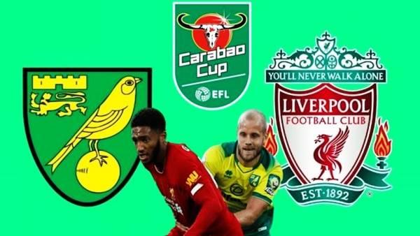 Video kết quả Norwich 0-3 Liverpool, vòng 5 Cup Liên Đoàn Anh
