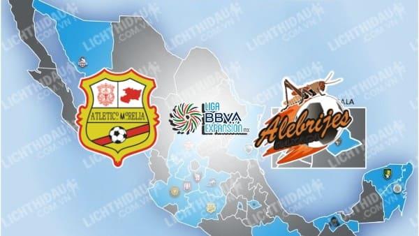 Trực tiếp Atletico Morelia vs Alebrijes Oaxaca, 07h00 ngày 24/9, vòng 9 Hạng 2 Mexico